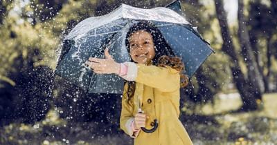 6 Rekomendasi Jas Hujan Anak