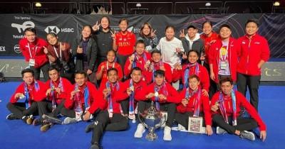 Sejarah Piala Thomas, Awal Terbentuk, dan Kemenangan Indonesia di 2021