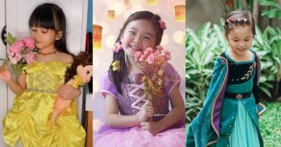 Gemas 9 Potret Anak Artis Mengenakan Gaun Princess