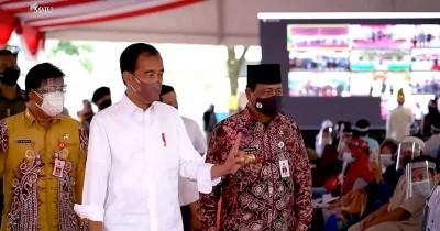 Jokowi Peringatkan Berhati-hati saat PTM Digelar